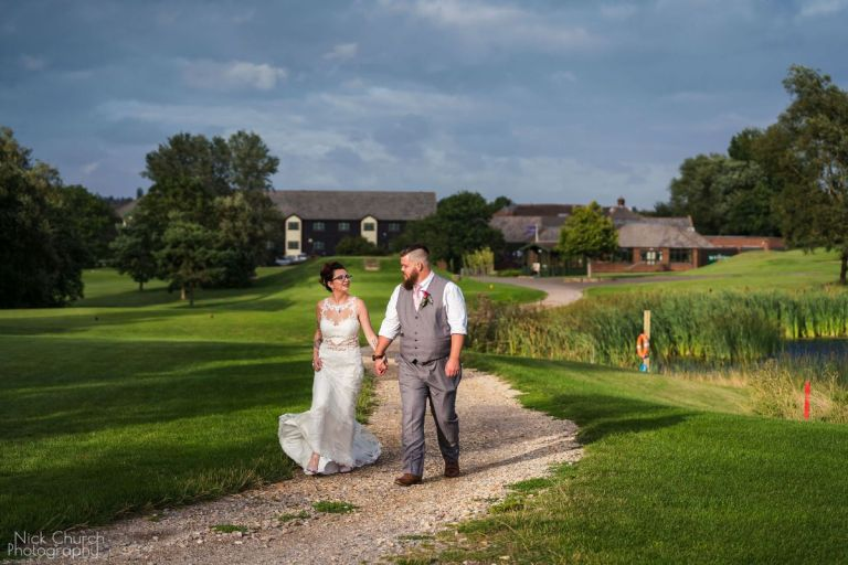 With golf course wedding venues, expect beautiful shots like this.