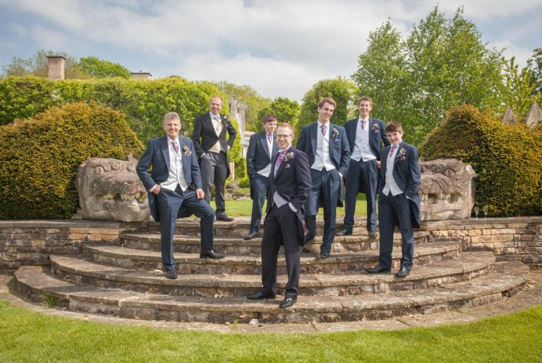 Rutland Photographic can capture your groomsmen well!