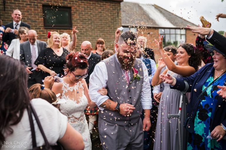 And of course there's a confetti shot!