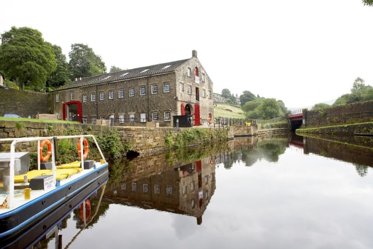 The beautiful Standedge Tunnel and Visitor Centre includes boat rides!