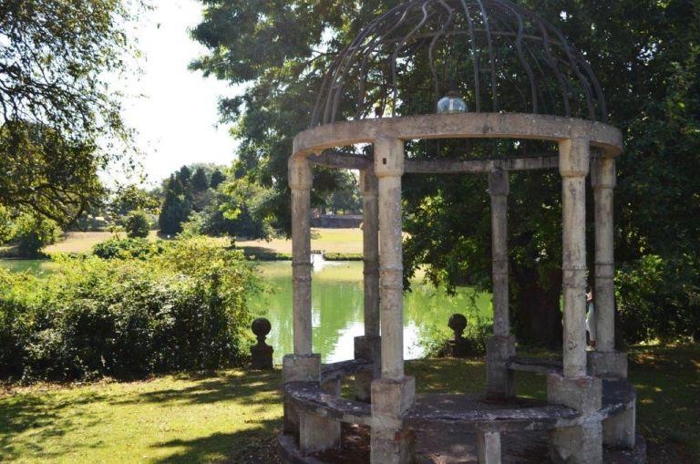 The parkland around Little Easton Manor is really beautiful.