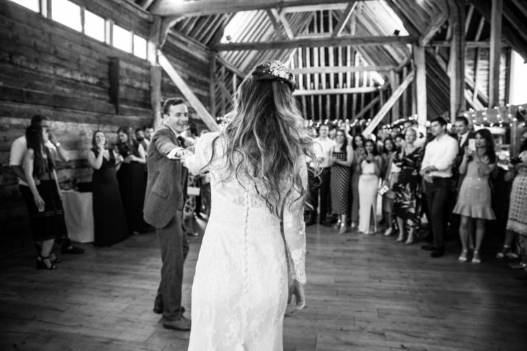Get dancing with your partner and don't worry about the photography! Two Bears Photography from Harrogate will get the perfect shots of your first dance.