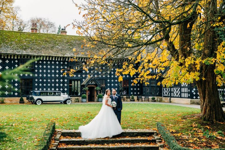 The couple's photographer was Claire Robinson Photography.