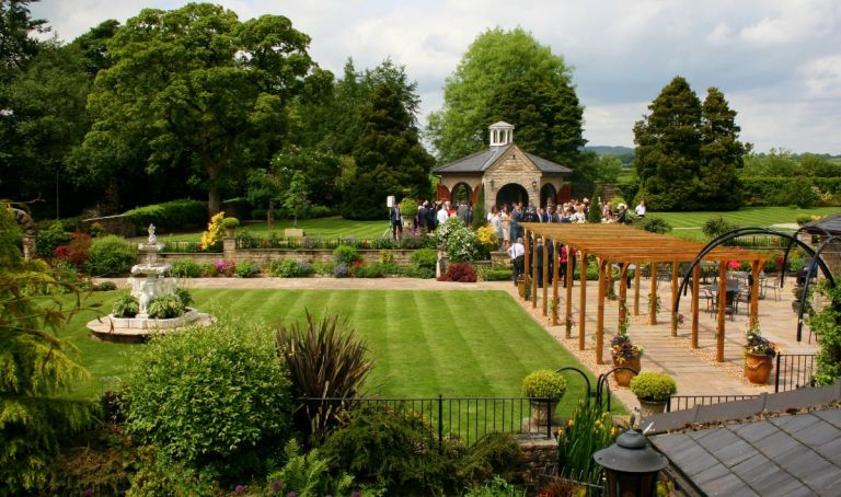 The Dovecote is ideal for summer weddings!
