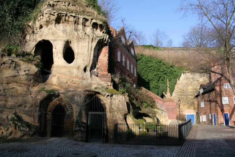 The glorious City fo Caves is such an interesting feature of Nottingham. Perhaps you could have wedding photos here too?