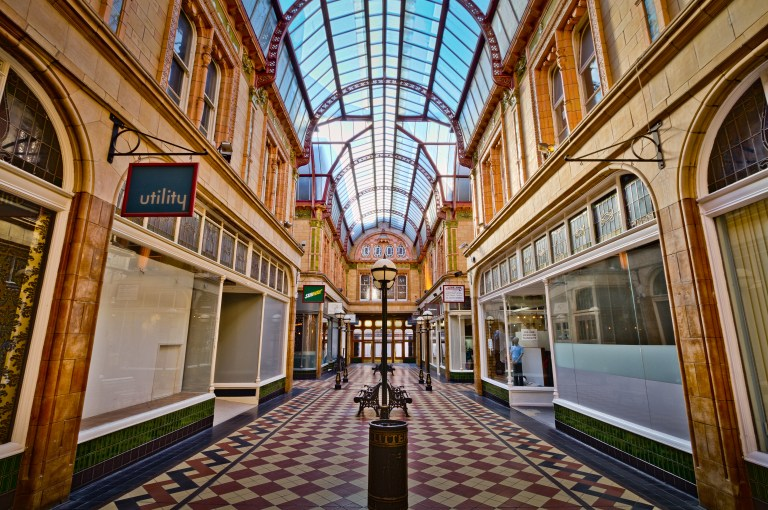 Have a stroll down the Miller Arcade for some really unique wedding photos!