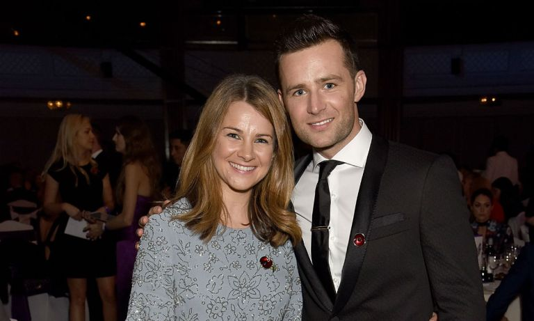 Harry Judd and his wife Izzy