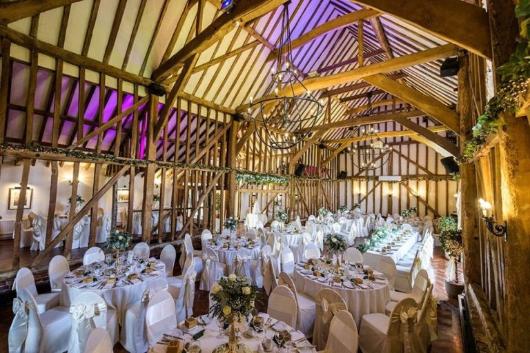 It's got to be one of the best rustic wedding settings!