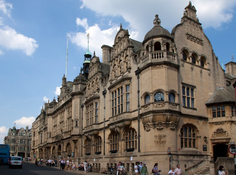 The Oxford Town Hall looks like Hogwarts on the outside!