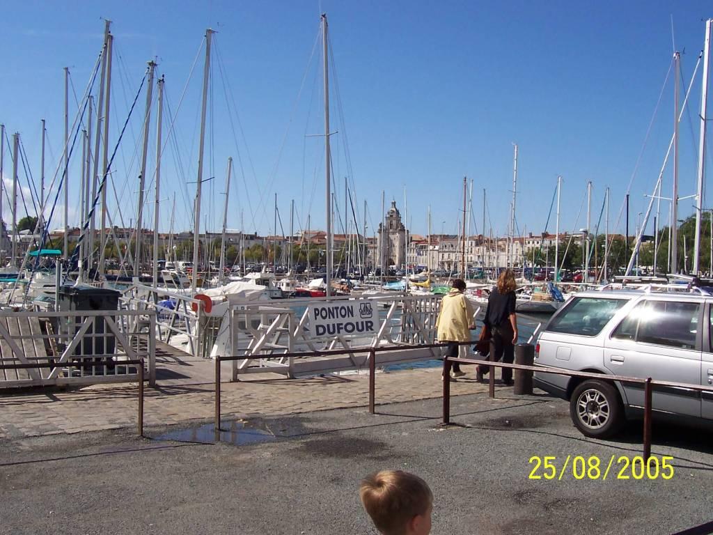 The port at La Rochelle