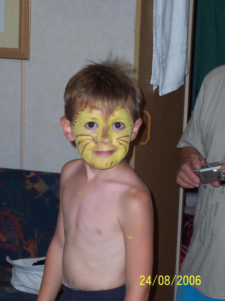 Ca' Savio - painted face