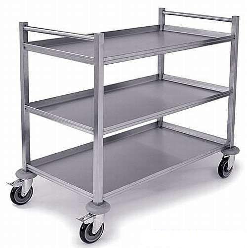 HT3 Heavy Duty Stainless Steel Trolley Stainless Steel