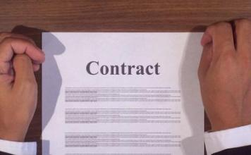 Signed Contract in Spain