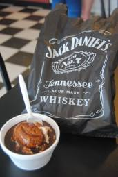 IT'S ILLEGAL TO SERVE YOU JD IN LYNCHBURG... BUT THEY CAN SNEAK IT INTO ICECREAM