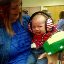 CJ may have made the cutest cowboy baby Austen cry