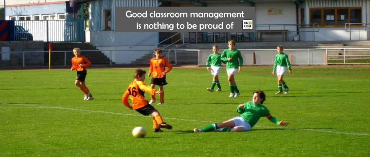 Good classroom management is nothing to be proud of by @bennewmark
