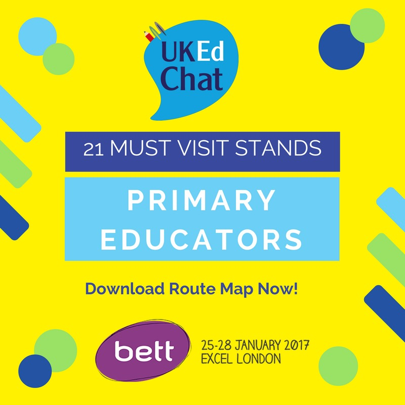 Must see stands for Primary teachers to visit at #BETT2017