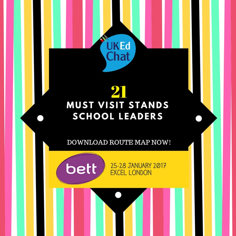 Must see stands for School Leaders at #BETT2017