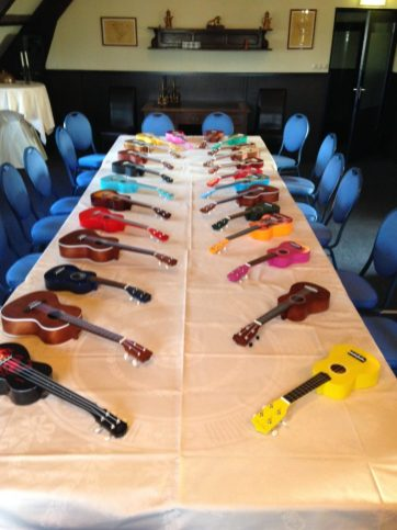 Ukelele workshop voorbereiding