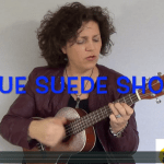 Blue suede shoes - ukelele cover