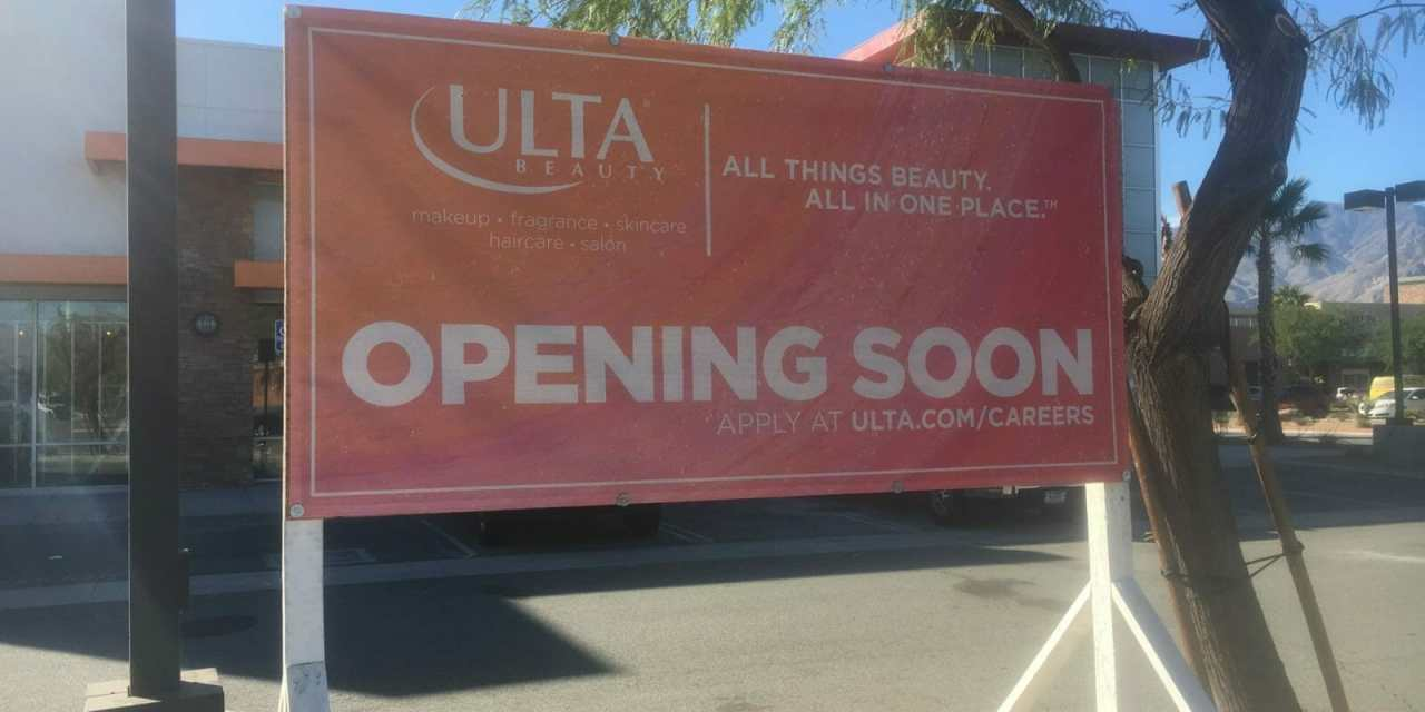 ULTA to Open New Store in Palm Springs