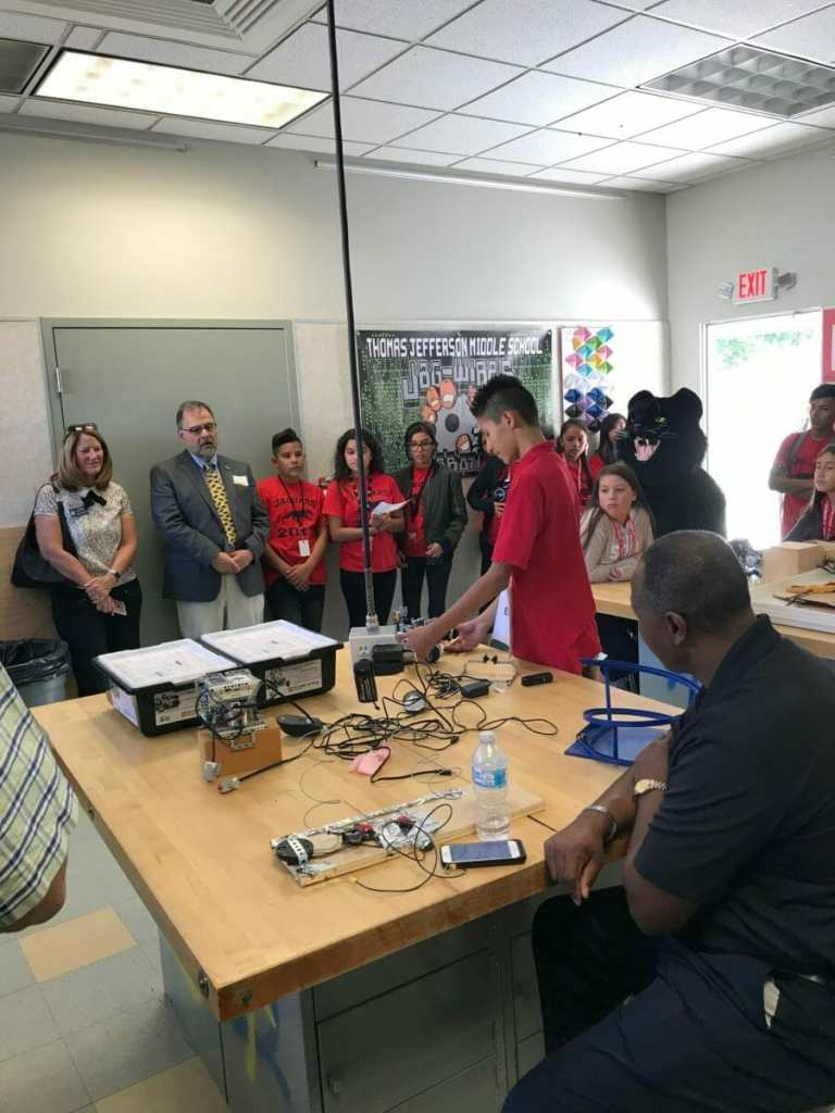 DSUSD Trustees Learn On Popular Tours
