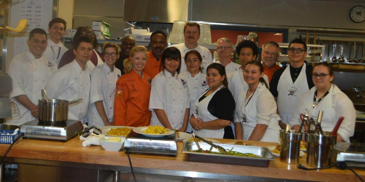 Local Chefs Share Talents with Culinary Students