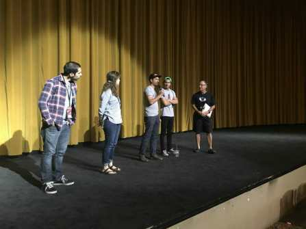 Valley High School Students View Chavez Documentary