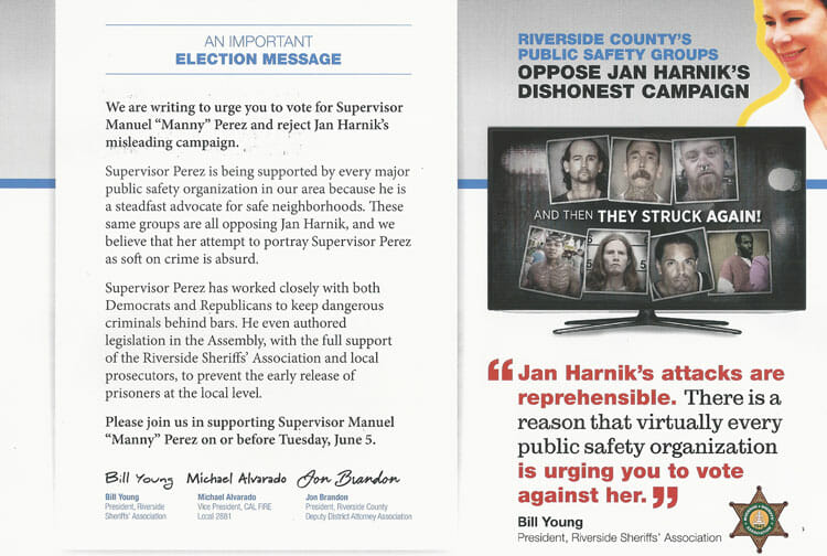 Dishonest Mailer Draws Ire of Public Safety Groups