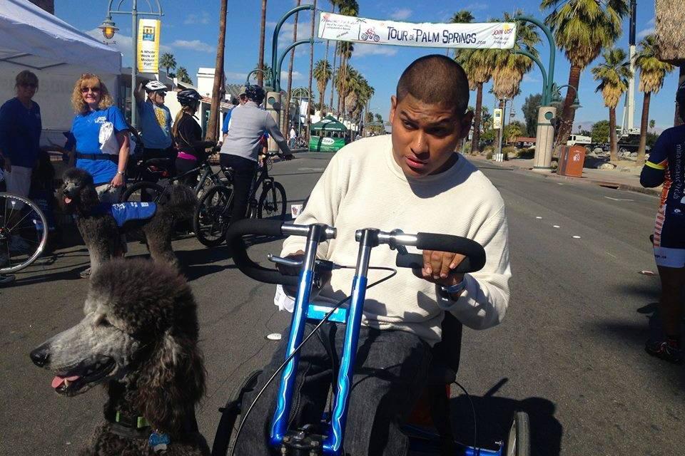 Tour de Palm Springs Teams with Cerebral Palsy