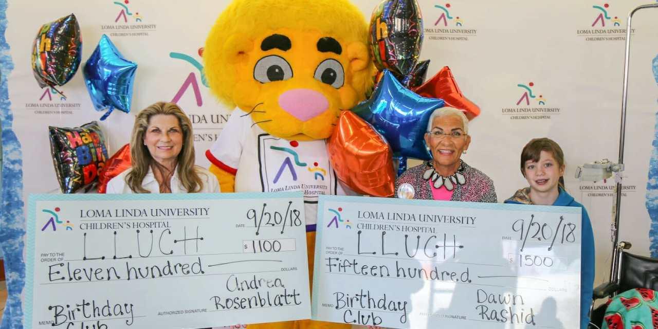 Birthday Money Supports Children's Hospital Tower