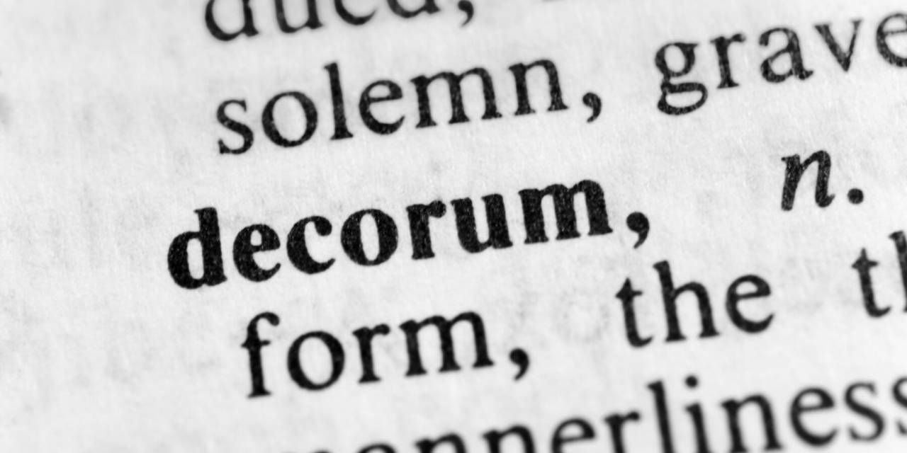 Decorum Rules Under Review in Cathedral City