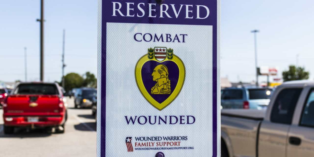Combat Wounded to Get Reserved Parking at County