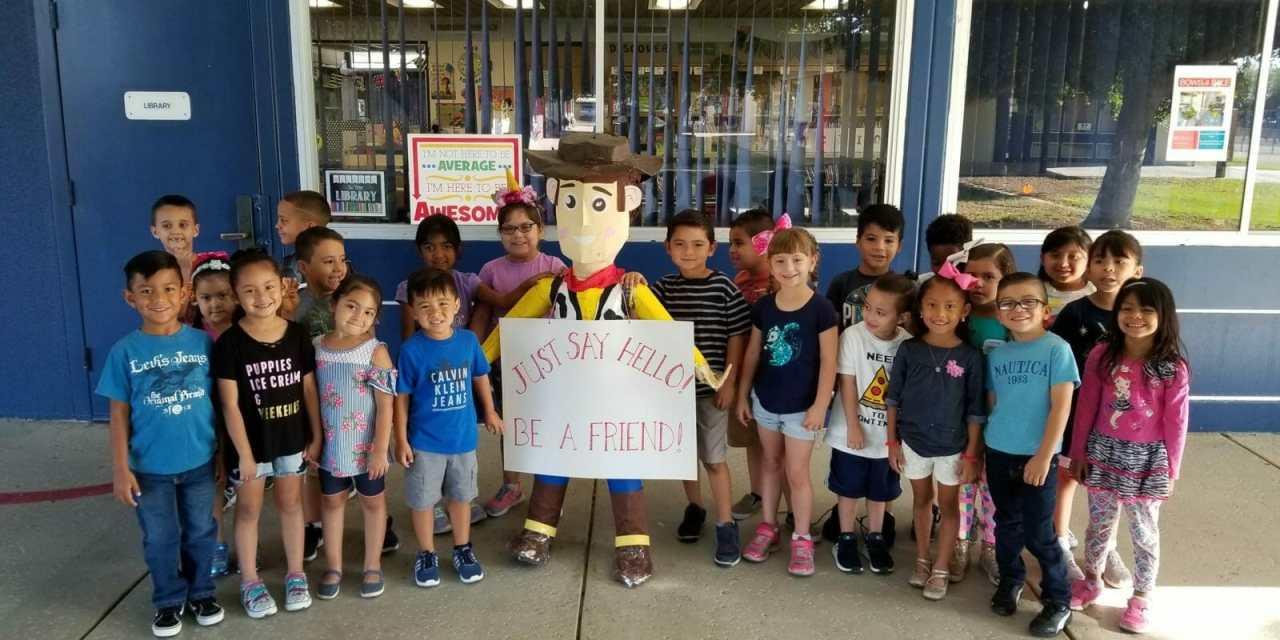 Start with Hello Initiative Fills DSUSD Schools