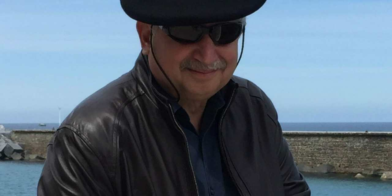 Author CJ Cook at Palm Springs Public Library
