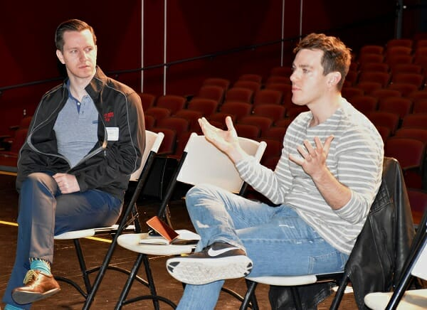 Jersey Boys Pros Coach Local Students