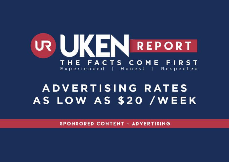 Uken Report Advertising Rates