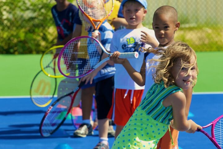 BNP Paribas Open Kids Day Packed with Fun