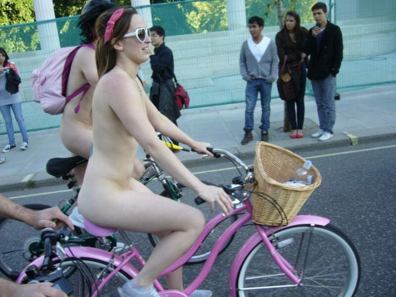 Can Naked Bike Ride Advance with Compromise?