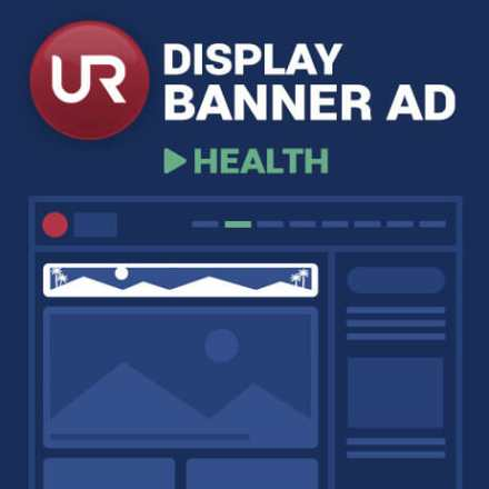 Display Health Section Banner Ads