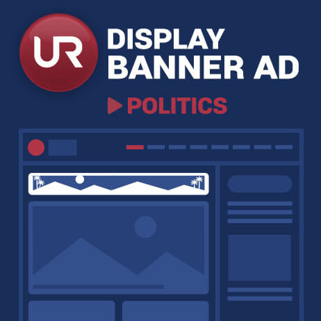 Display Politics Section Banner Ads