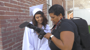 Volunteers Help Foster Youth with Senior Portraits