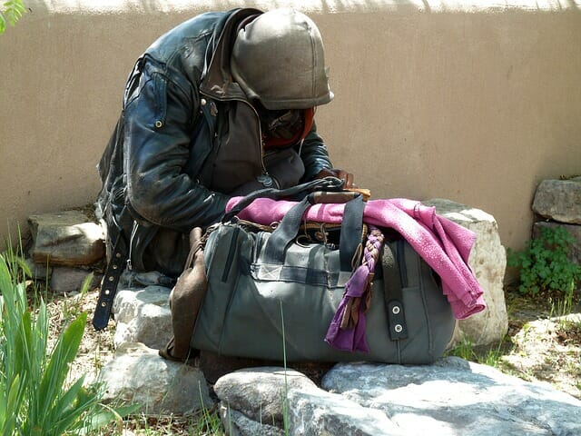 Homeless Services Query on Cathedral City Dais