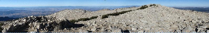San Gorgonio offers 360 degree panoramas.