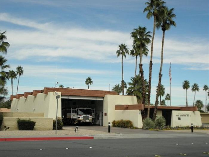 Fire Station No. 4 in Palm Springs Ready for Show