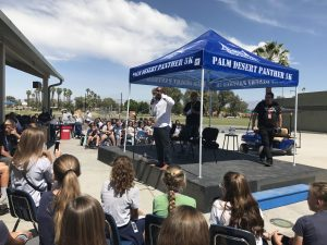 Palm Desert Charter Middle School, Go Panthers