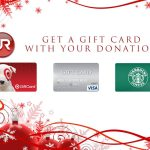 Donate, Receive 10 Percent Back in Gift Cards