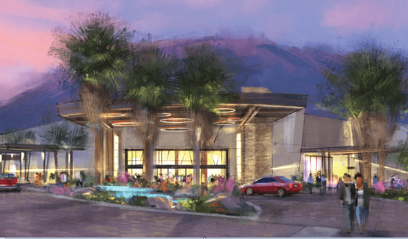 Agua Caliente Casino Cathedral City on Track