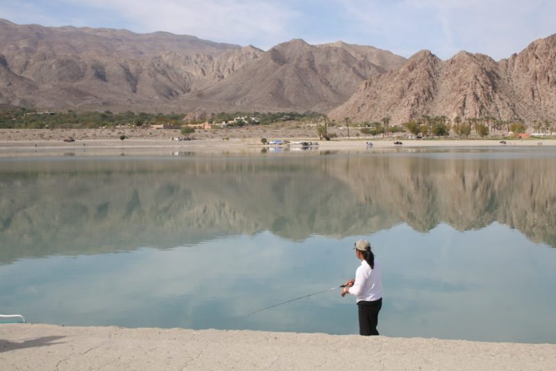 Free Admission, Fishing at Lake Cahuilla for Vets