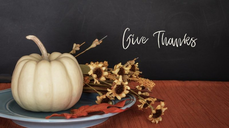 A Thanksgiving Holiday Celebration [Opinion]